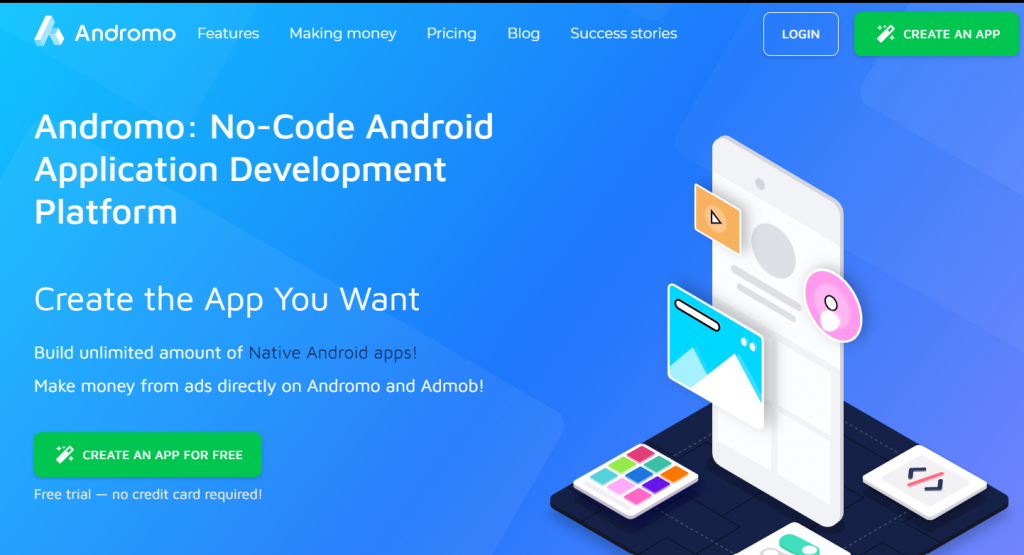 creacreate an App without coding and earn moneyte an App without coding and earn money