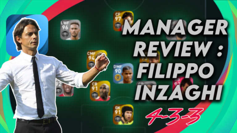 FILIPPO INZAGHI PES MANAGER review
